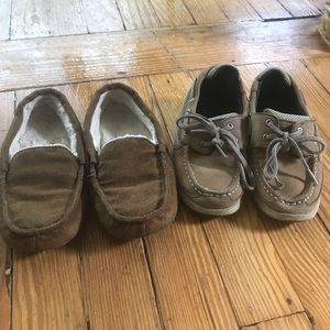 Sperry Shoes - Boys Sperry boat shoes size 12.5